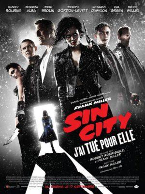 Affiche du film Sin city 2 : j'ai tué pour elle