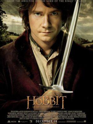 Affiche du film Lle Hobbit : Un voyage inattendu
