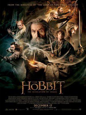Affiche du film Le Hobbit 2 : La désolation de Smaug
