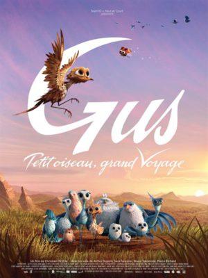 Affiche du film Gus, petit oiseau, grand voyage