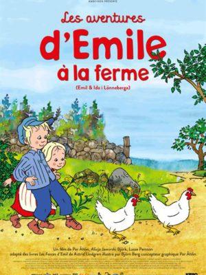 Affiche du film Les aventures d'Émile à la ferme