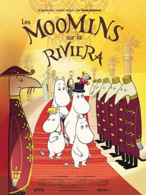 Affiche du film Les Moomins sur la Riviera