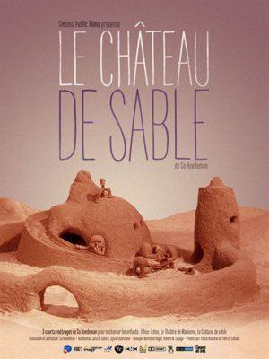 Affiche du film Le château de sable