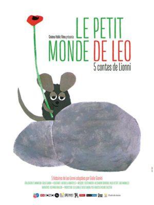Affiche du film Le petit monde de Léo : 5 contes de Lionni