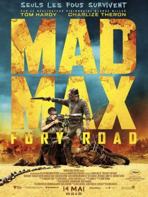 Affiche du film Mad Max : fury road