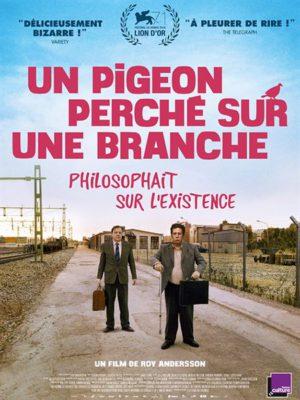 Affiche du film Un pigeon perché sur une branche