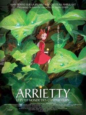 Affiche du film Arrietty, le petit monde des chapardeurs