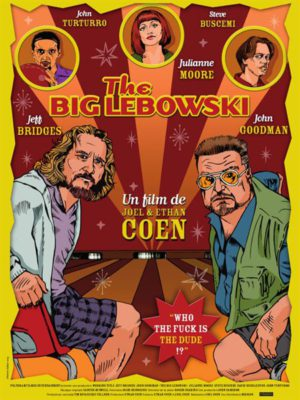 Affiche du film The big Lebowski