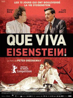 Affiche du film Que viva Eisenstein !