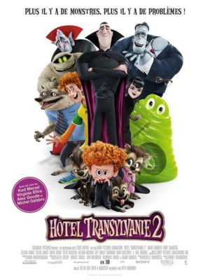 Affiche du film Hôtel Transylvanie 2