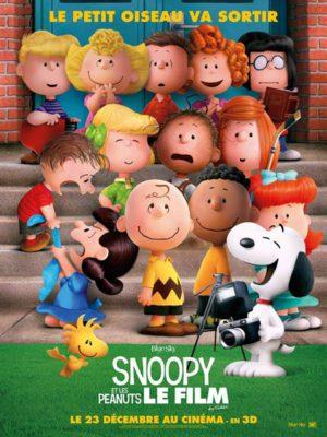 Affiche du film Snoopy et les Peanuts : le film