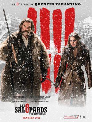Affiche du film Les huit salopards
