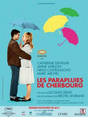 Affiche du film Les parapluies de Cherbourg