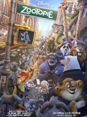 Affiche du film Zootopie