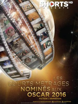 Affiche du film Courts aux Oscars