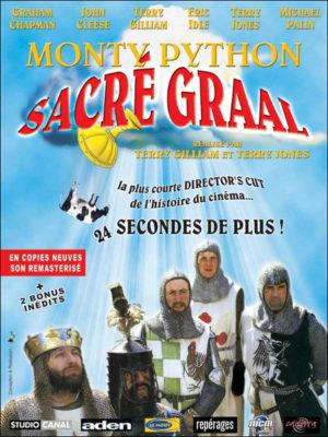 Affiche du film Monty Python, Sacré Graal