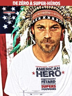 Affiche du film American hero