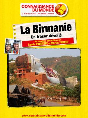 Affiche du film Connaissance du monde : La Birmanie, un trésor dévoilé