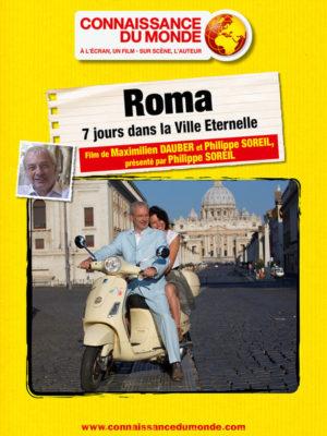 Affiche du film Connaissance du monde : Roma, 7 jours dans la ville éternelle