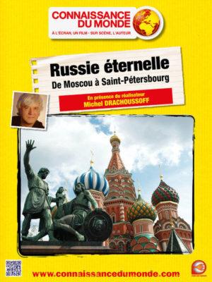 Affiche du film Connaissance du monde : Russie éternelle, de Moscou à Saint-Petersbourg