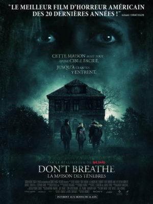 Affiche du film Don't breathe, la maison des ténèbres