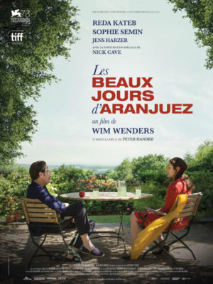 Affiche du film Les beaux jours d'Aranjuez
