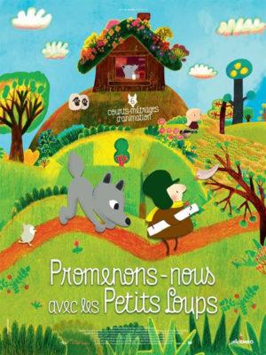Affiche du film Promenons-nous avec les petits loups