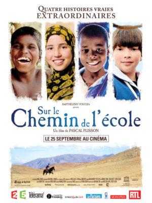 Affiche du film Sur les chemins de l'école