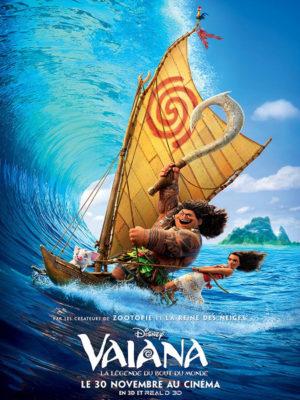 Affiche du film Vaiana, la légende du bout du monde
