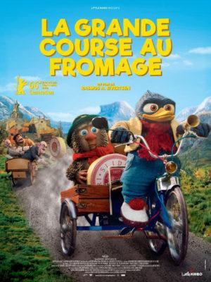 Affiche du film La grande course au fromage