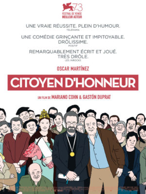 Affiche du film Citoyen d'honneur