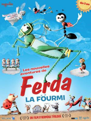 Affiche du film Les nouvelles aventures de Ferda la fourmi