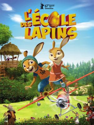 Affiche du film L'école des lapins